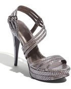 Pelle Moda Mirror Sandal - Lyst