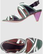 Marni High Heeled Sandals - Lyst