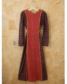 Free People Vintage Indian Batik Dress - Lyst