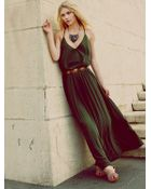 Free People Complete Pleats Maxi Dress - Lyst