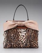 Valentino Leopard-print Tote - Lyst