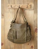Free People Tina Patched Satchel - Lyst