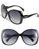 Jimmy Choo Oversized Sunglasses - Lyst