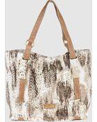 Just Cavalli Large Fabric Bag - Lyst