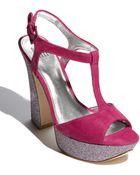Pelle Moda Yvaine Platform Sandal - Lyst
