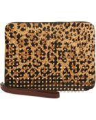 Christian Louboutin Cris Ipad Case Pony Spike Tech Accessory - Lyst