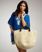 OndadeMar Straw Crochet Bag - Lyst