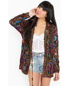 Nasty Gal Patchwork Crochet Jacket - Lyst