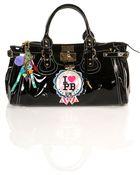 Topshop Patent Padlock Bag By Pauls Boutique** - Lyst