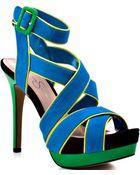 Jessica Simpson Evangela - Atlantic Blue - Lyst