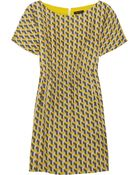 Rag & Bone Dalmeny Printed Silk Dress - Lyst
