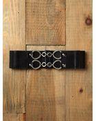 Free People Pebbled Lock Waist Belt - Lyst