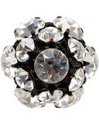 Vintage Jewels Crystal Ring - Lyst