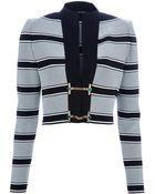 Gucci Striped Cardigan - Lyst