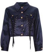 Jean Paul Gaultier Cropped Jacket - Lyst