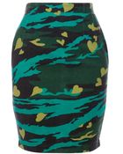 Jean Paul Gaultier Printed Skirt - Lyst
