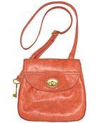 Fossil Carson Flap Crossbody Bag - Lyst