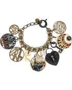 Lanvin Swarovski Crystal Charm Bracelet - Lyst