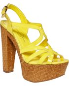 Jessica Simpson Cizal Wedge Sandals - Lyst
