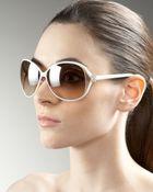 Roberto Cavalli Open-temple Sunglasses - Lyst