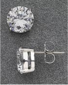 Nadri Large Stud Earrings - Lyst