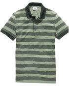 Lacoste Short Sleeve Irregular Stripe Polo Shirt - Lyst