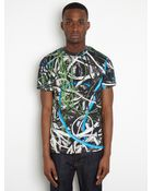 Christopher Kane Christopher Kane Mens Multi Cable Tshirt - Lyst