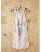 Free People Vintage Flour Bag Dress - Lyst