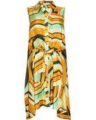 Thakoon Tie Front Dress - Lyst