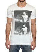 Dolce & Gabbana Mick Jagger Distressed Jersey Tshirt - Lyst