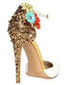 DSquared2 110mm Lalique Studs and Flower Pumps - Lyst