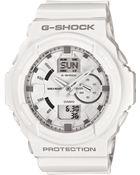 G-Shock Mens Analog Digital White Resin Strap Watch  - Lyst