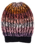 Missoni Stripe Knit Hat - Lyst