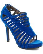 ModCloth Youre On Sapphire Heel - Lyst