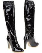 Grey Mer Highheeled Boots - Lyst