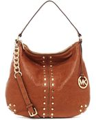 Michael Kors Uptown Astor Large Shoulder Bag - Lyst