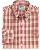 Brooks Brothers Noniron Slim Fit Tonal Double Tattersall Sport Shirt - Lyst