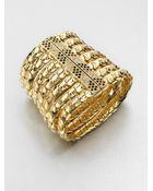Ca&lou Grace Swarovski Crystal Bracelet - Lyst