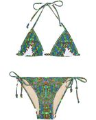 Mara Hoffman Tie Side Bikini - Lyst