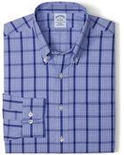 Brooks Brothers Noniron Slim Fit Tonal Glen Plaid Sport Shirt - Lyst