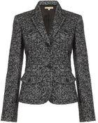 Michael Kors Herringbone Tweed Jacket - Lyst
