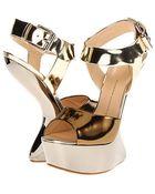 Giuseppe Zanotti Bronze Sandals - Lyst