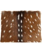 Proenza Schouler Large Chieko Deer Clutch - Lyst