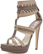 Brian Atwood Glamazon T Strap  - Lyst