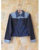 Free People Vintage Tripletone Denim Jacket - Lyst
