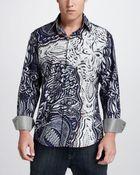Robert Graham Colorblock Sport Shirt - Lyst