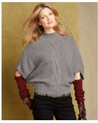Tommy Hilfiger Dolman Sleeve Cable Knit Sweater - Lyst