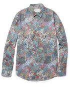 Maison Margiela Dotprint Cotton Shirt - Lyst