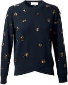 3.1 Phillip Lim Embellished Wool Sweater - Lyst