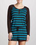 Josie Striped Raglan Jumpsuit  - Lyst